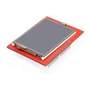 Shield Arduino | Tela Tft-lcd 2,4 Pol Diagonal Touch Screen