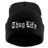 Gorro Thug Life Touca Preto Turn Down For What Vida Louca ec7e7cf9052