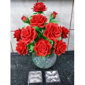 Frisador Kit Eva Flores Portuguesa Rosa Folhas Frete Gratis