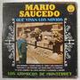 Mario Saucedo / Que Vivan Los Novios 1 Disco Lp Vinilo