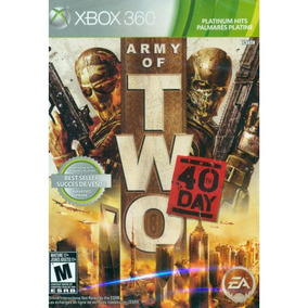 Army Of Two The 40th Day Platinum Hits Xbox 360 Md Fís Lacr