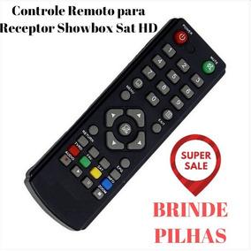 Controle Remoto Sho#wbox Sat Hd /plus P/ Tv Led Philips