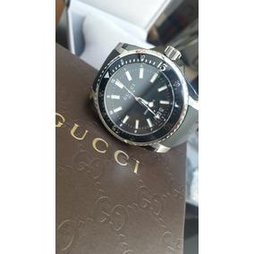 Reloj Gucci Dive Modelo Ya136204 Swiss Made 100% Original 22af20b0b0f