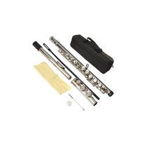 Flauta Transversal Em C Com Estojo - Marca Harmony