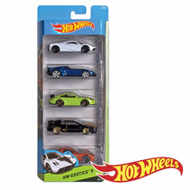 Hot Wheels Autos Surtidos Pack X5 Hotwheels Original Mattel