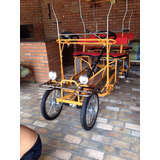 Bicicleta De 4 Lugares, Importada Da China, Semi Nova.