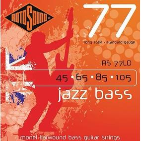 Encordoamento Rotosound Jazz Bass Rs77ld 4 Cordas 45