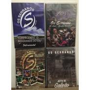 Dvd - Os Serranos - 4 Dvds
