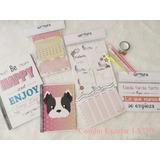 Combo Escolar Cuadernos A4 Lapices Utiles- Varios Modelos