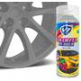 4x Spray Envelopamento Líquido 450 Ml Cinza Brilhante