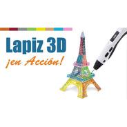 Increoble Lápiz 3d Impresora Lapicera + Filamentos   Prince