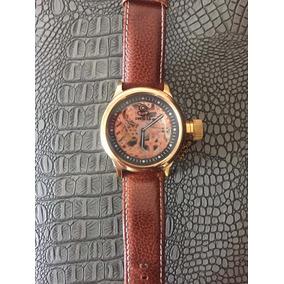 Reloj Invicta De Cuerda Eskeleton Edición Especial