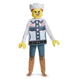Lego Vaquera Traje Deluxe, Multicolor, Pequeño (4-6x)