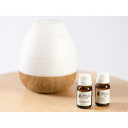 Reiki Difusor Ultrasonico Aromaterapia + 2 Esencias