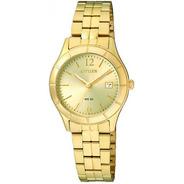Reloj Citizen Dama Dorado Eu6042-57e Agente Oficial Promo