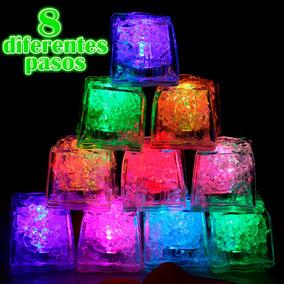 12 Hielos Luminosos 8 Pasos Multicolor Luz Led