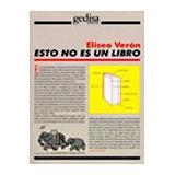 Esto No Es Un Libro (coleccion El Mamifero Parlante); Elise