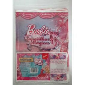 Toalha De Mesa Barbie Sapatilhas Mágicas 1,80m X 1,20m