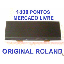 Display Roland Juno-stage/gi/gw8/jupiter50/ Prelude / Novo