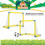 Chute A Gol 2 Traves 2 Redes 01 Bola - Brinquedos Educativo