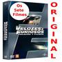 Box Velozes E Furiosos 1 Ao 7 Completo Dvd Original Lacrado