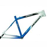 Quadro Mosso Sprint Alumínio 7046 26x18 Branco Azul