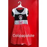 Disfraz Minnie Mouse Princesa Oferta Vestido Dia Niño Regalo