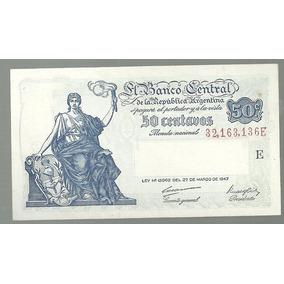 Argentina 50 Centavos Moneda Nacional Bot 1810