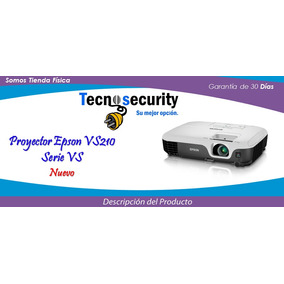 Proyector Epson Vs210 Plung And Play Usb 3lcd 2600 Lumens