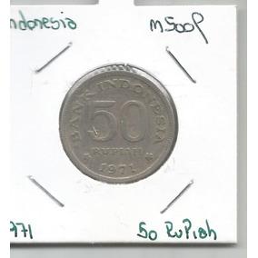 M 5009 Indonesia Moneda 50 Rupias 1971