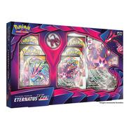 Jogo Cartas Box Pokémon Coleção Premium Eternatus Vmax Copag