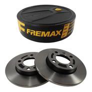 Disco De Freio Dianteir Gol 1.0 1.6 1.8 G1 G2 G3 G4 Solido