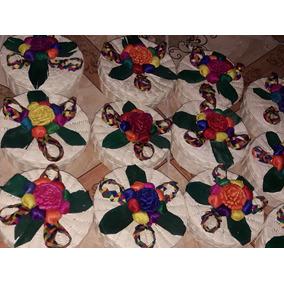 Paquete De 100 Tortilleros De Medio Kilo Con Flor Grande
