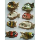Peces Decorativos Hechos Con Conchas Marinas