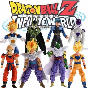 Kit Dragon Ball Z Bonecos 10 Unidades