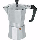 Cafeteira Italiana Aluminio Para 6 Xícaras Cafés 300 Ml