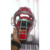 Careta De Catcher Tamanaco Negro Tipo Hockey Adulto Nuevo!!!