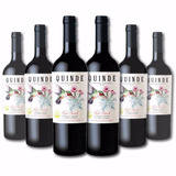 6x Vino Tinto Red Blend Quinde Orgánico Certif. Exportación