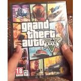 Nuevo Y Sellado Grand Theft Auto 5 Para Pc Gta 5 Original
