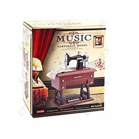 Maquina Coser Caja Musical 20cm Mama Madre Abuela Tia Suegra