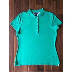 fd749299cc Camisa Polo Feminina Tommy Hilfiger Gg Nova Importada Única