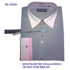 Camisas Sociais Tamanhos Grandes Gordinhos De Até 160 Kilos. 25. 554  vendidos - São Paulo · Camisa Social Slim Giorgio Bianco de677df820dae