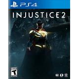 Injustice 2 Ps4 Nuevo Original Domicilio - Jgames