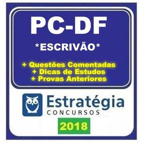 Pc Df (pc-df) - Escrivão
