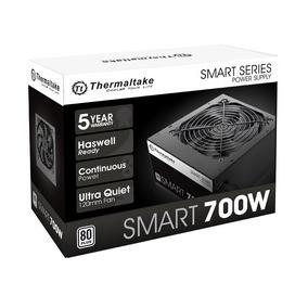 Fuente Pc Thermaltake Smart White 700w Reales 80 Plus
