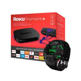 Kit Roku Premiere+ & Reloj Digital Nabu Watch Gaming Razer