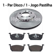 Disco E Pastilha Freio Dianteiro Volkswagen T-cross Tsi 1.0