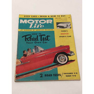Revista Antiga De Automóveis 1955 Motor Life
