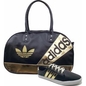 Kit Bag Bolsa Tenis adidas Original Sapatilha Promoção