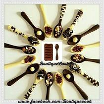 Molde De Silicona Bombones Chocolate,cucharas,oso.